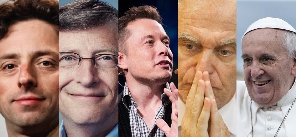 De Musk al Papa Francisco, pasando por Palatchi: los mecenas de las tecnologías del futuro