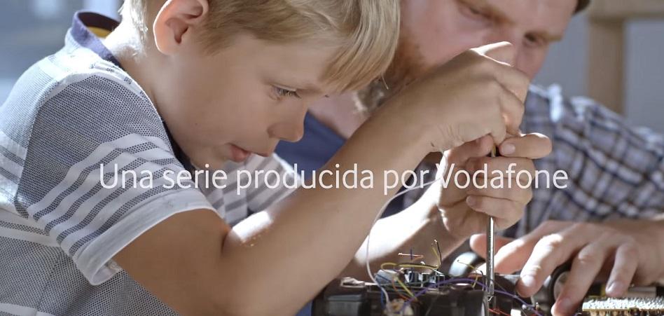 Vodafone coge la claqueta con la serie 'Familias conectadas'