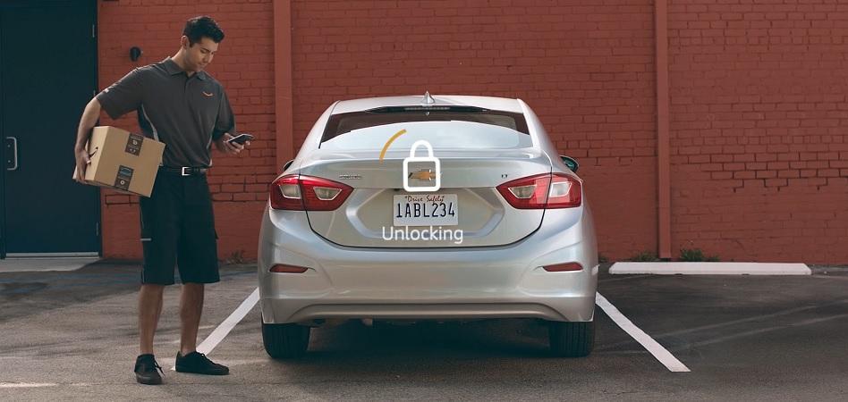Amazon realizará entregas en el maletero de los vehículos de sus clientes