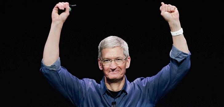 Apple bonifica a Tim Cook con 121 millones de dólares en acciones tras cumplir objetivos