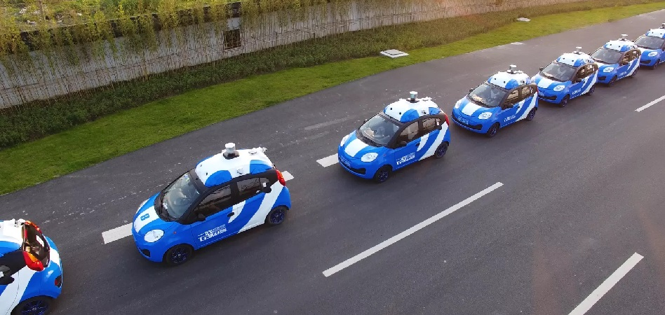 Blackberry y Baidu: nuevo 'tándem' para la tecnología de los coches autónomos