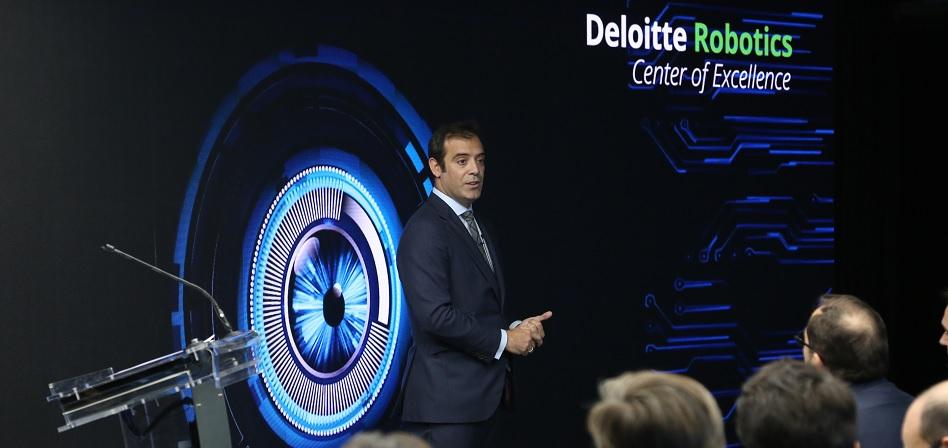 Deloitte se acerca a las nuevas tecnologías con su primer centro de robótica en España