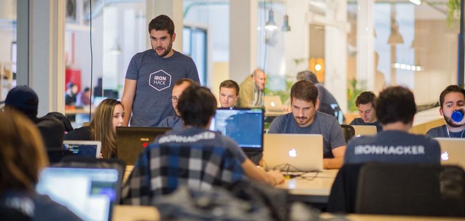 Ironhack traslada su sede social a EEUU tras 'levantar' tres millones de dólares