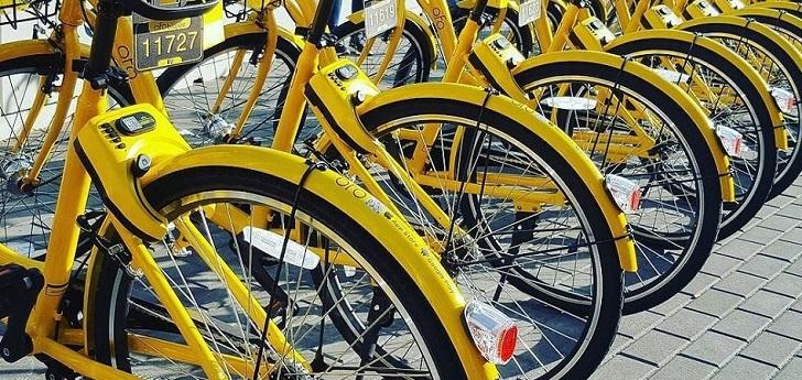 Las bicis chinas de Ofo abandonan España