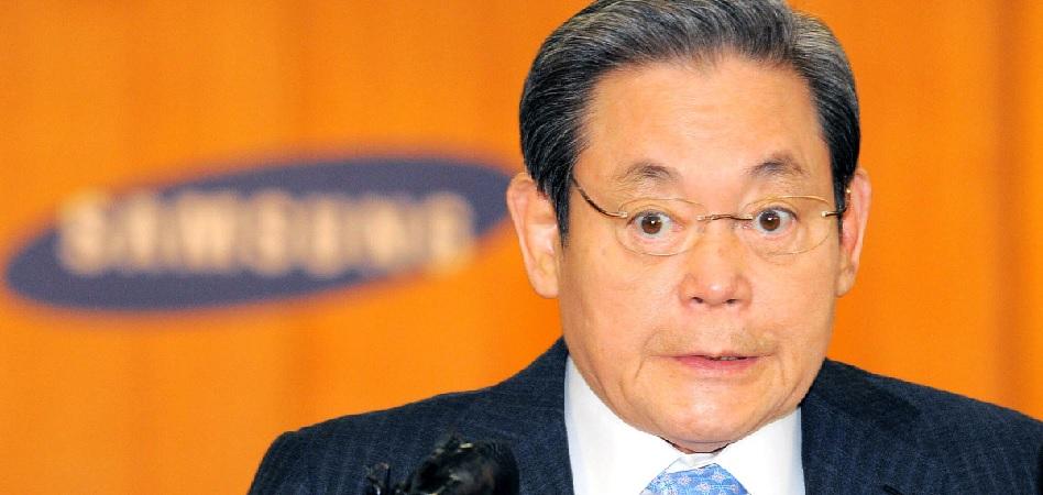 Lee Kun-hee, presidente de Samsung, sospechoso de evadir 7,5 millones de dólares en impuestos