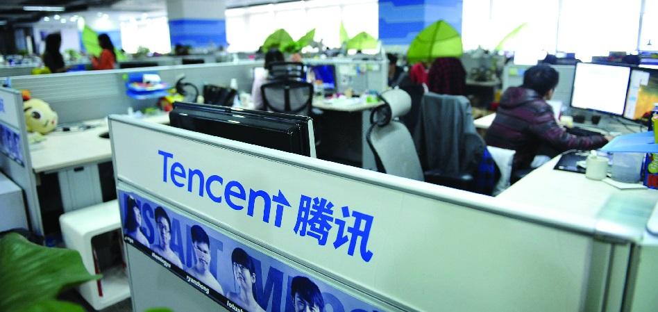 El gigante asiático Tencent adquiere el 12% de Snapchat