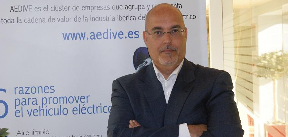 """Arturo Pérez de Lucia (Aedive): """"Necesitamos acelerar el despegue del vehículo eléctrico en España"""""""