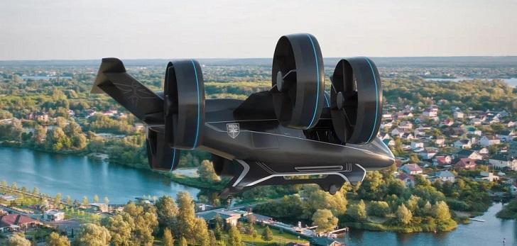 El futuro está en los cielos: un socio de Uber crea el taxi volador