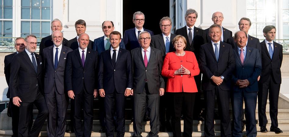 Pallete: 'caballero' de la Mesa Redonda Europea de Industriales