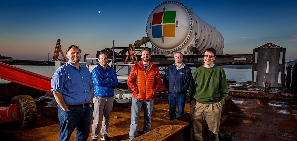 Microsoft se 'sumerge' en el mar con su nuevo centro de datos