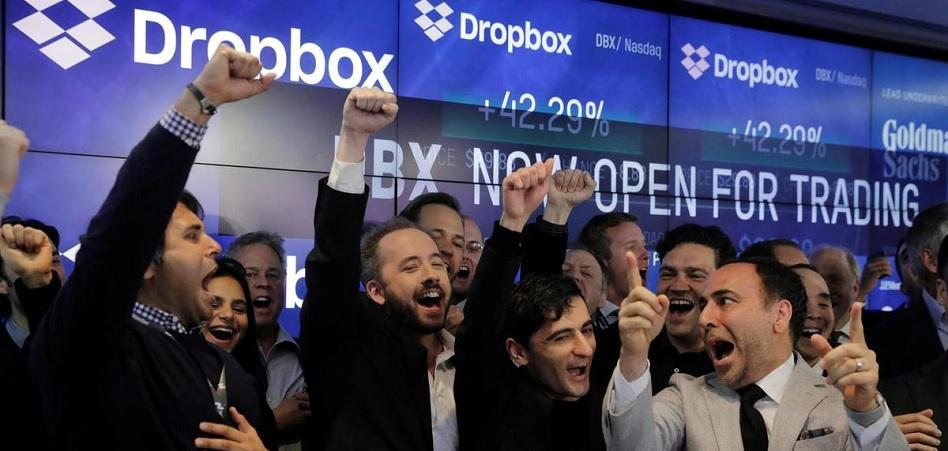 Dropbox convence al mercado: acumula una subida del 58% desde su debut