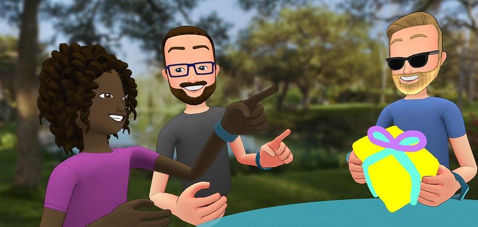 Facebook permite al usuario experimentar con modelos 3D interactivos y realidad virtual