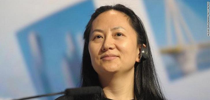Canadá detiene a la directora financiera de Huawei a petición de EEUU