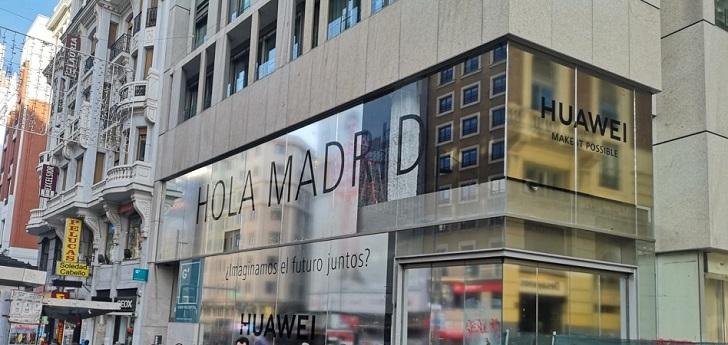 Huawei contempla abrir su 'flagship store' en el centro de Madrid a mitad de 2019