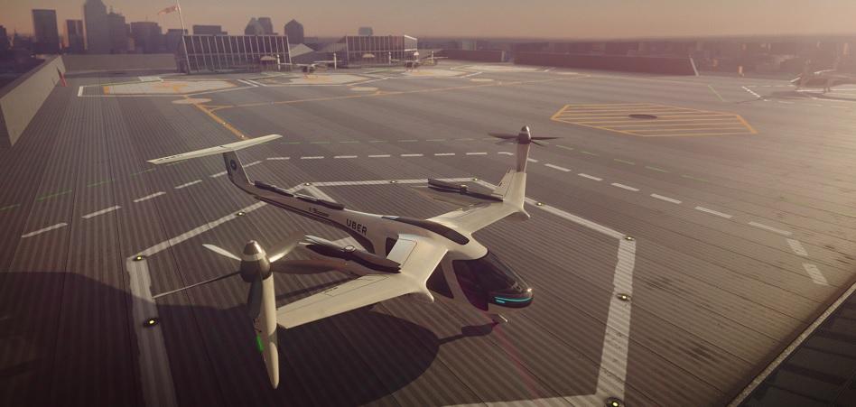 Uber amplía su radio de acción y se alía con la Nasa para gestionar el tráfico aéreo